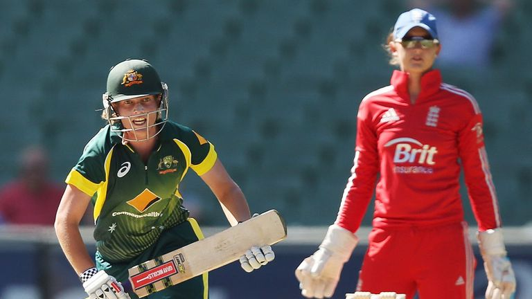 Australian skipper Meg Lanning struck 42 off 28 balls with five fours and a six
