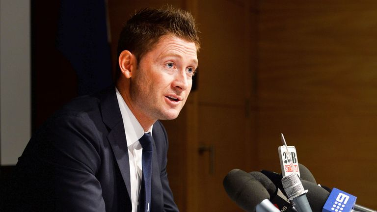 Michael Clarke expects South Africa to pose a stern test