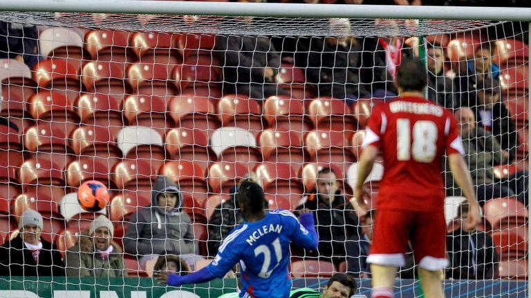 Aaron McLean: Puts Hull ahead