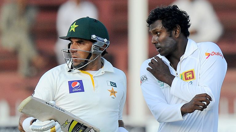 Misbah-ul-Haq & Angelo Mathews: Contrasting emotions in Sharjah