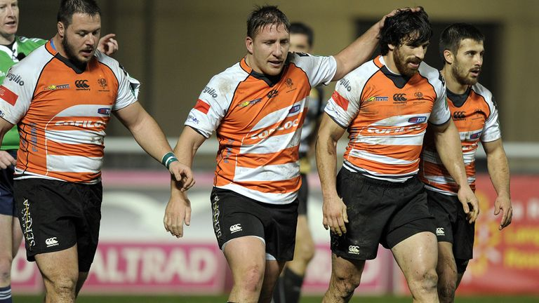 Treviso have notified their intention to leave the Pro12 next season