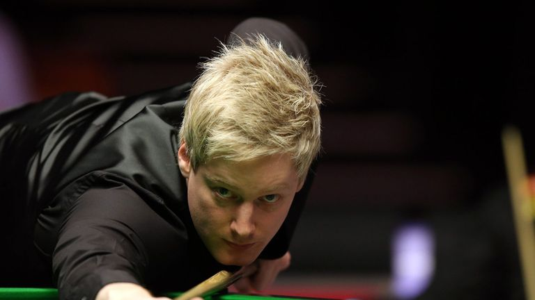Neil Robertson: Beat Yu Delu to secure his place in the quarter-finals