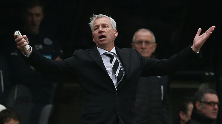 Alan Pardew: Shocked by the decision to rule out Cheick Tiote's goal