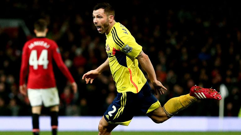 Phil Bardsley: Turned down a new deal with Sunderland
