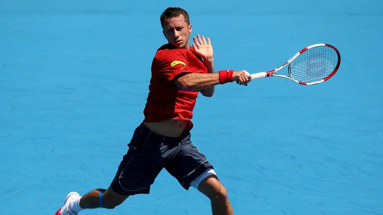 Philipp Kohlschreiber: Won two matches in a day to reach Dusseldorf final