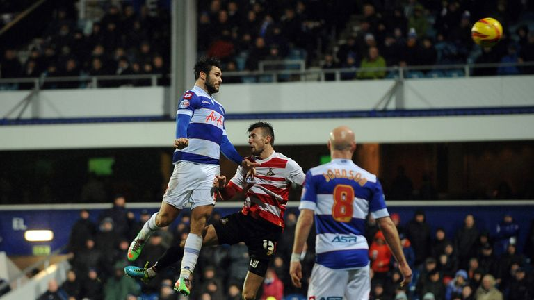 Charlie Austin: Headed QPR to a vital win over Doncaster