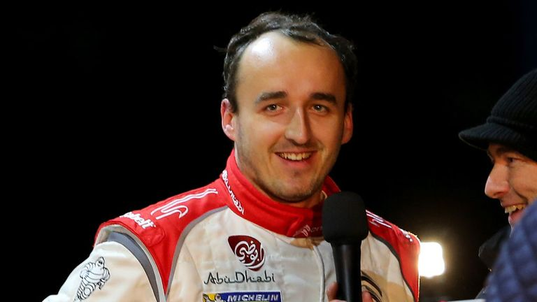 Robert Kubica: No racing experience on snow and ice