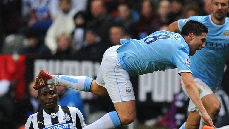 Samir Nasri: Manchester City man facing eight weeks out