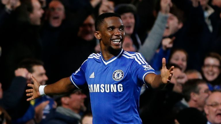 Samuel Eto'o: Striker wants to win the Premier League title with Chelsea