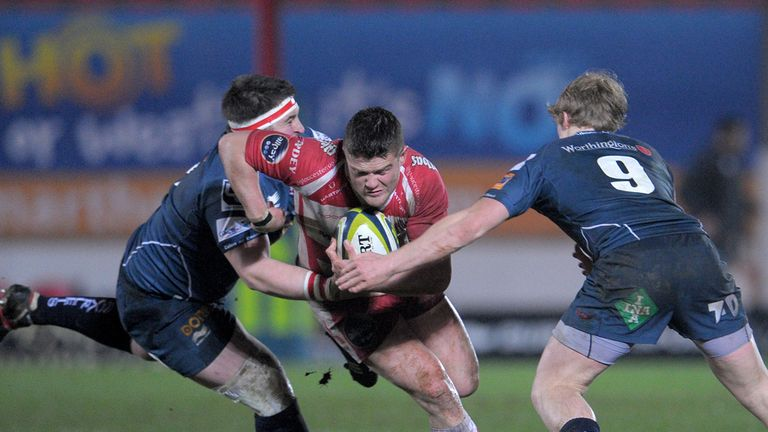 Tavis Knoyle: On the charge for Gloucester