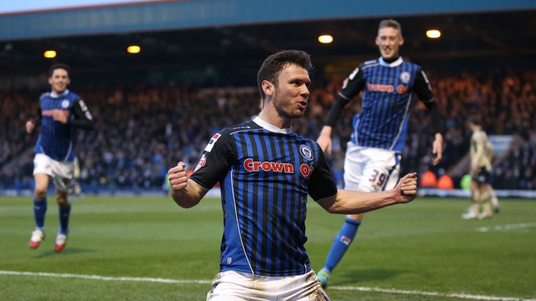 Scott Hogan: In the frame to be League Two Player of the Year