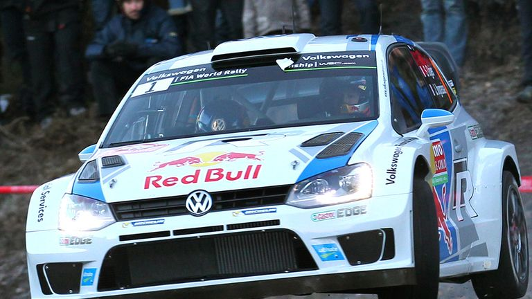 Sebastien Ogier: Capitalised on Bryan Bouffier's mistakes
