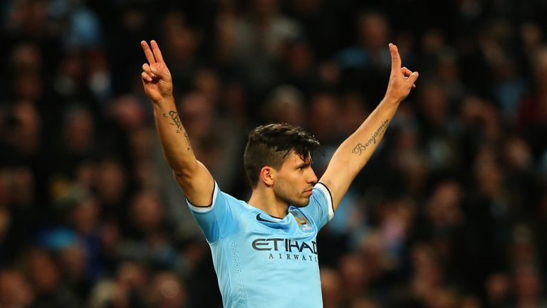 Sergio Aguero: Back in the goals after returning from injury