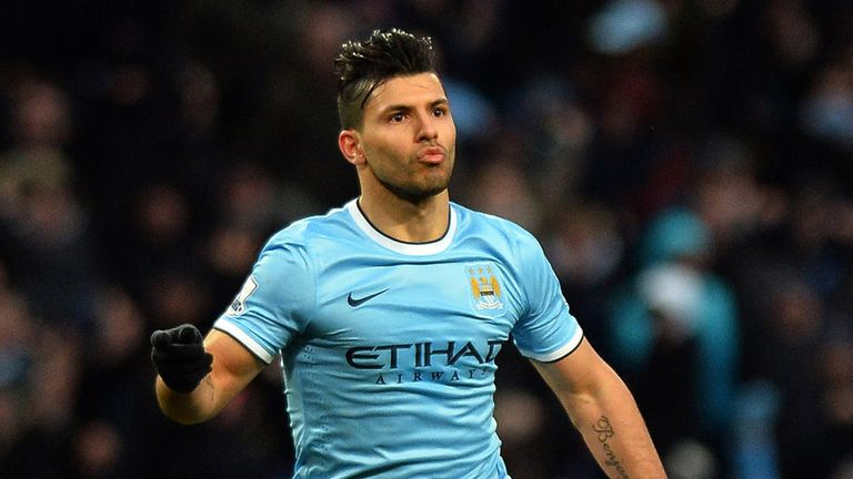 Sergio Aguero wants to fire Manchester City to the quadruple