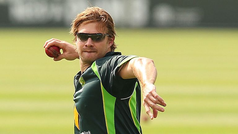 Shane Watson: Will miss the next three ODI's against England