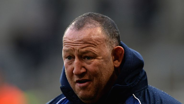 Steve Diamond: Could not hide his disappointment as the Sale Sharks bowed out