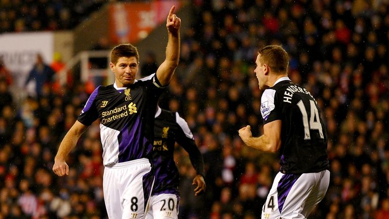 Steven Gerrard: Convinced Liverpool can finish in the top four this term.