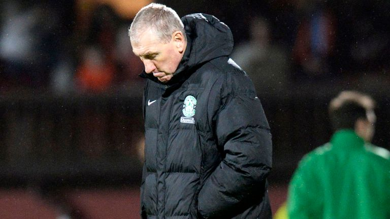 Terry Butcher: Had sympathy for his Hibernian players