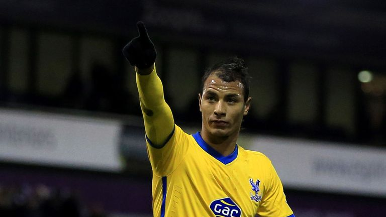 Marouane Chamakh: Aiming to stay in the Premier League