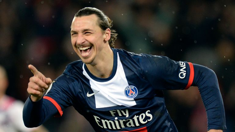Zlatan Ibrahimovic: Scored twice for PSG