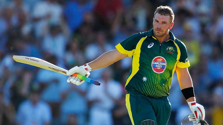 Aaron Finch: Big boost for the Tykes