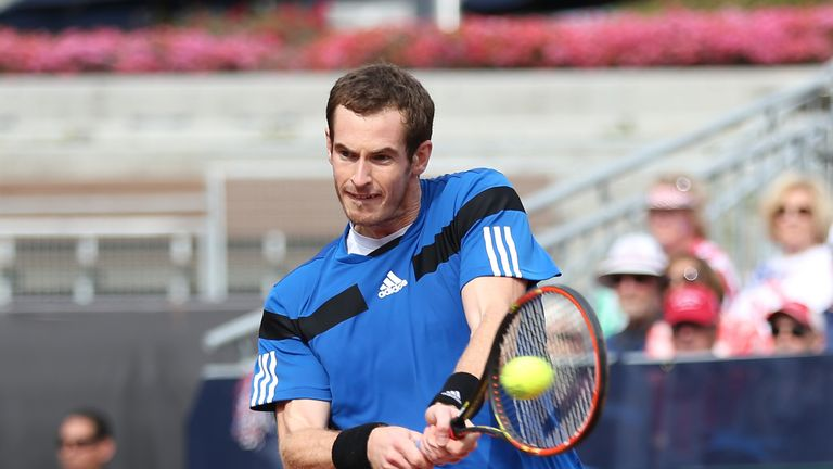 Andy Murray: Safely through in Rotterdam