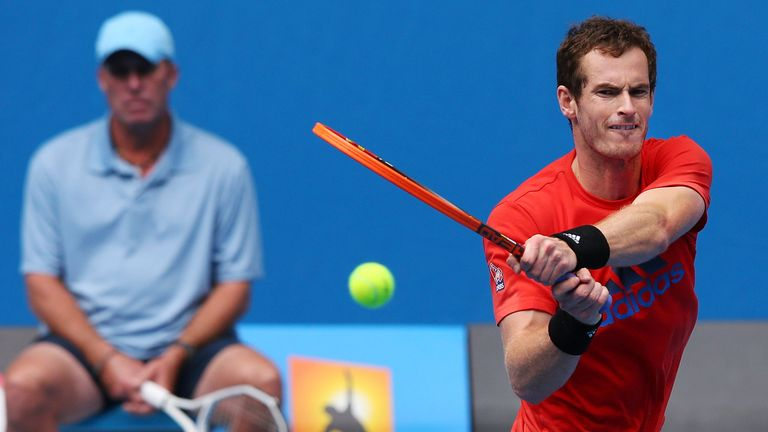 Andy Murray: Will face Lleyton Hewitt in exhibition ahead of Australian Open