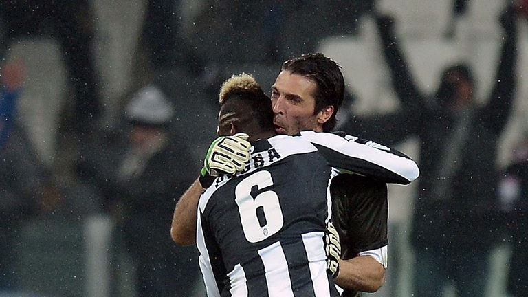 Gianluigi Buffon: Loves playing with Paul Pogba