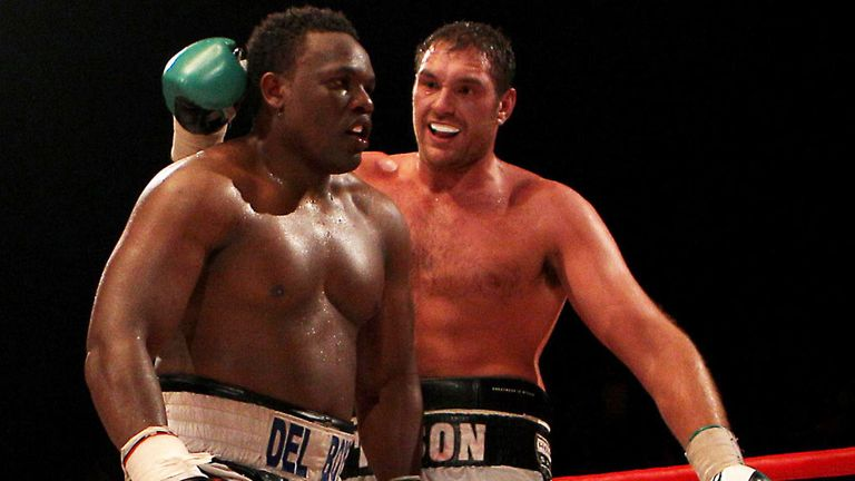 Tyson Fury and Dereck Chisora - could meet again in June