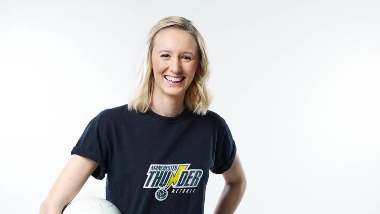 Emma Dovey of the Manchester Thunder