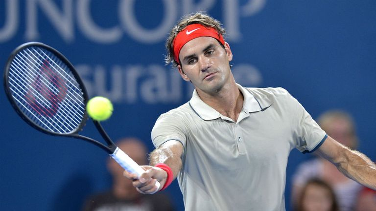 Roger Federer: Proved far too good for Marinko Matosevic