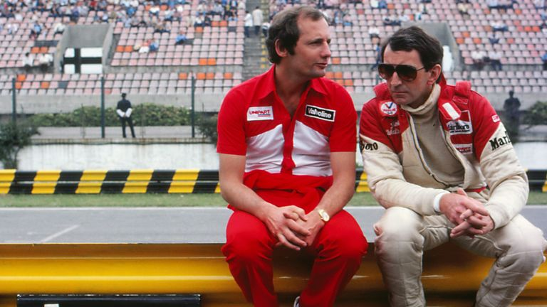 John Watson worked with Ron Dennis during his time as a McLaren driver