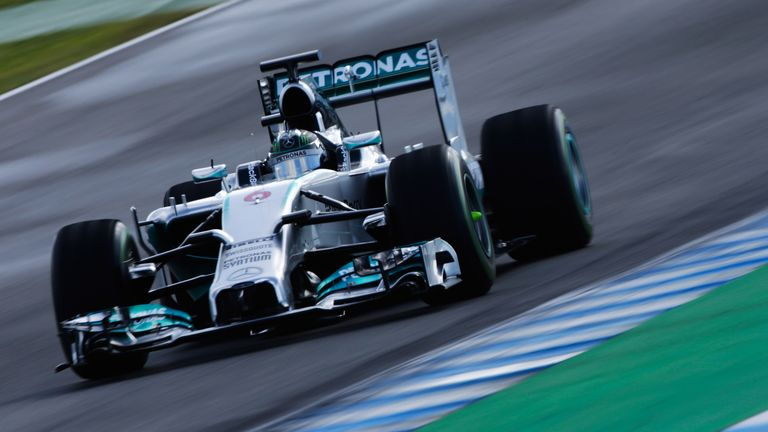 Nico Rosberg: Forty more laps than anyone else on Day Two