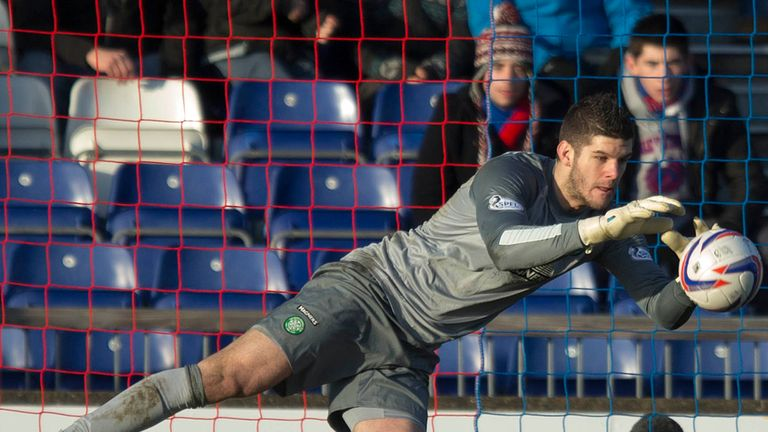 Fraser Forster: Celtic keeper in the Scottish Premiership Team of the Year
