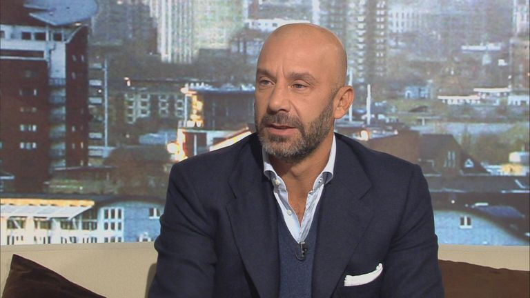 Vialli: has viewed attitudes to diving in England and Italy