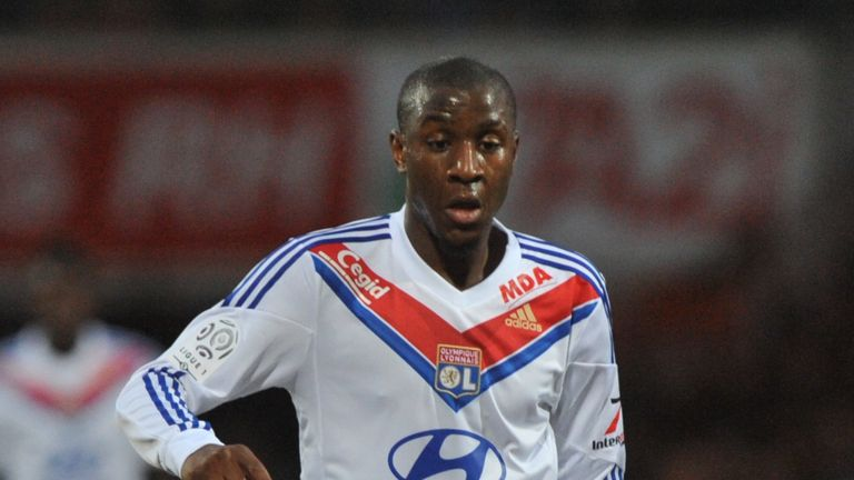 Gueida Fofana: Scored twice as Lyon beat Plzen 4-1 at home
