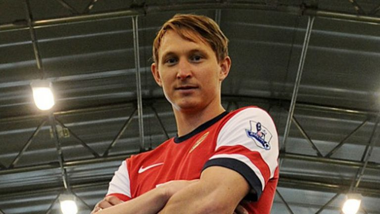 Kim Kallstrom: Swedish midfielder ready to make his Arsenal debut