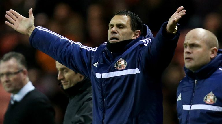 Gus Poyet: Wants to see mental toughness at Sunderland