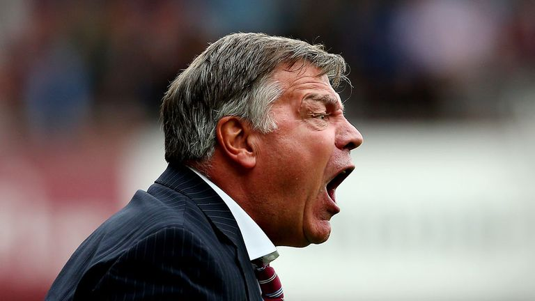 Sam Allardyce: West Ham boss has received backing from club's owners