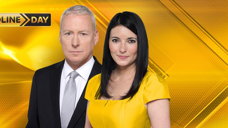 Jim White Natalie Sawyer Deadline Day