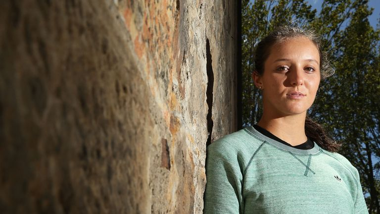 Laura Robson: Forced to pull out of the Hobart International