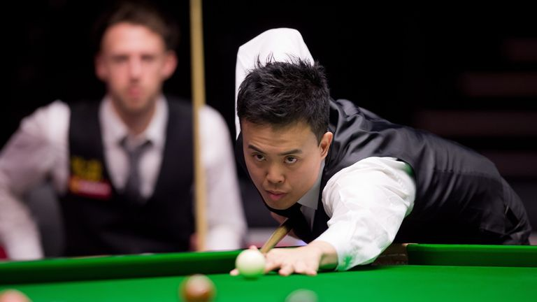 Marco Fu: hit four half-centuries to see off John Higgins