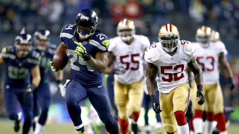 The 49ers will be chasing Marshawn Lynch and the Seattle Seahawks again this year.