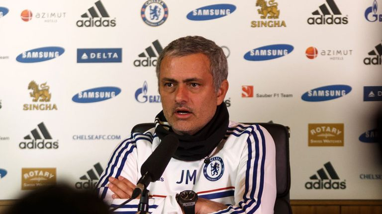 Jose Mourinho: Chelsea boss not targeting a striker before the transfer deadline