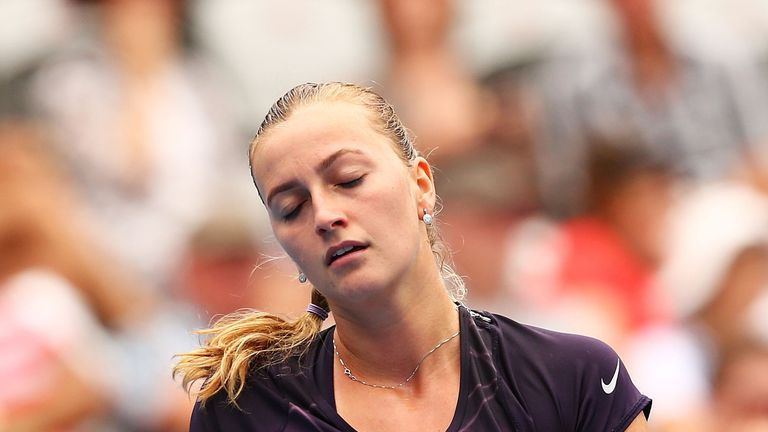 Will Kvitova's negative thoughts cost her at Wimbledon?