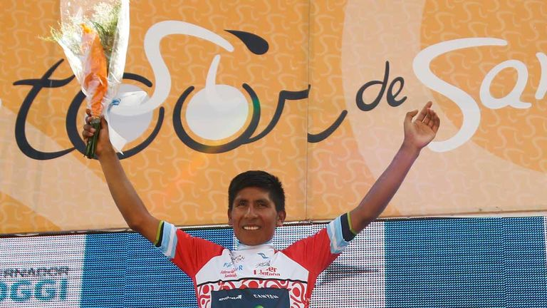 Nairo Quintana: Tour de San Luis champion