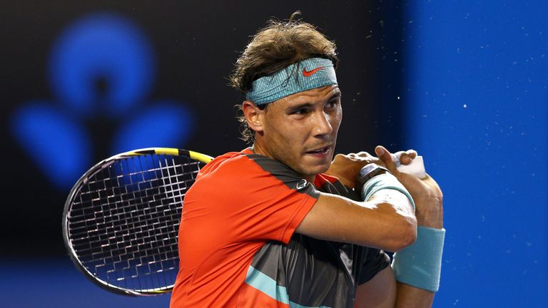 Rafael Nadal was too strong for Thanasi Kokkinakis