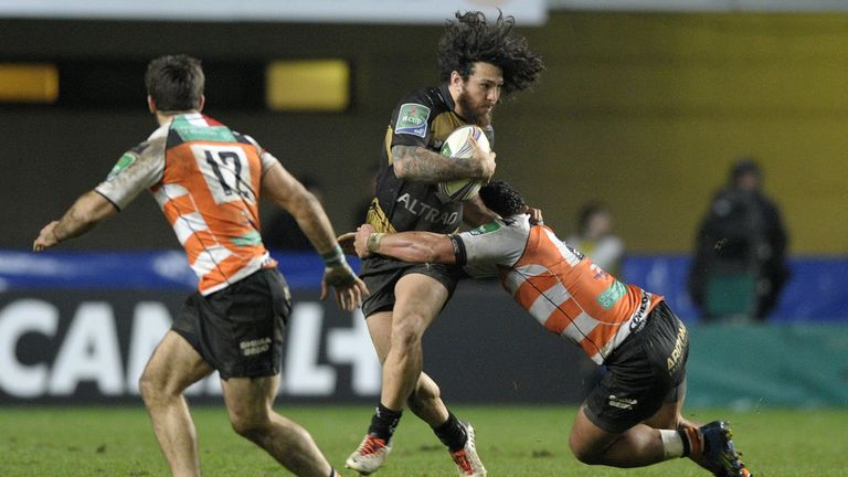 Rene Ranger (C): Was one of four try scorers for Montpellier