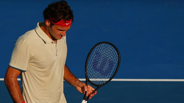 Roger Federer: Hoping to benefit from a tough pre-season