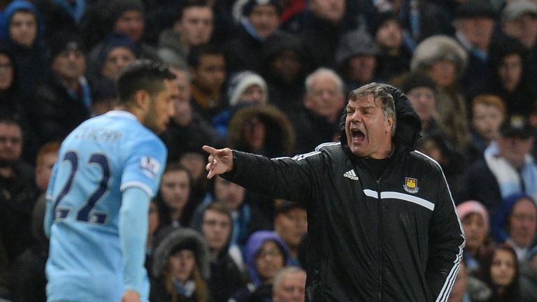 Sam Allardyce: Has urged his team to find some fighting spirit